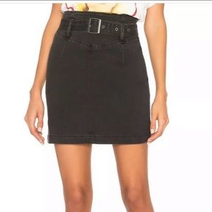 NWT FREE PEOPLE Livin It Up Belted Mini SKIRT